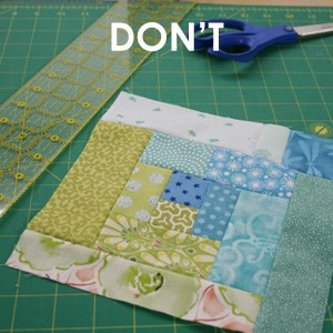 Sew Along Block Photos Don't