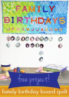 Birthday Board Quilt Free Download